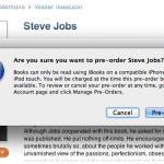 Книгу о Стиве Джобсе можно заказать в iTunes Store