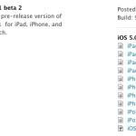 Apple выложила для тестирования разработчиков новую версию IOS 5.0.1 beta 2