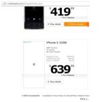 Онлайн-магазин выставил на продажу iPhone 5