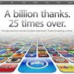 App Store преодолел рубеж в 25 миллиардов загрузок