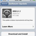 Apple выпустила новую версию iOS для iPhone, iPod и iPad — 5.1.1