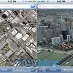 Сравнение карт Google и Apple