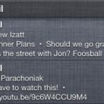 Gmail для iOS получил поддержку центра уведомлений