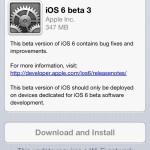 Apple представила iOS 6 beta 3