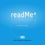 Обзор программы readMe и чтение книг на iPad