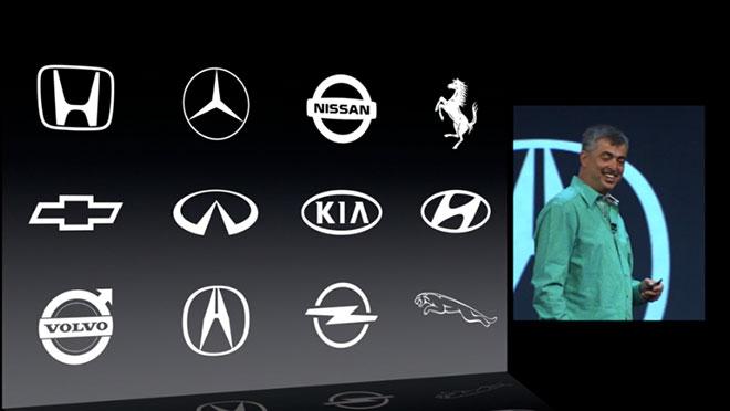 Кто поддерживает iOS in the Car