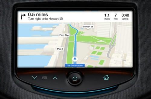 Навигация в iOS in the Car