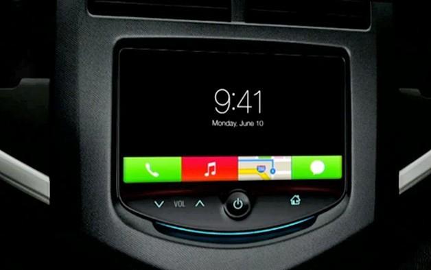 Интерфейс iOS in the Car