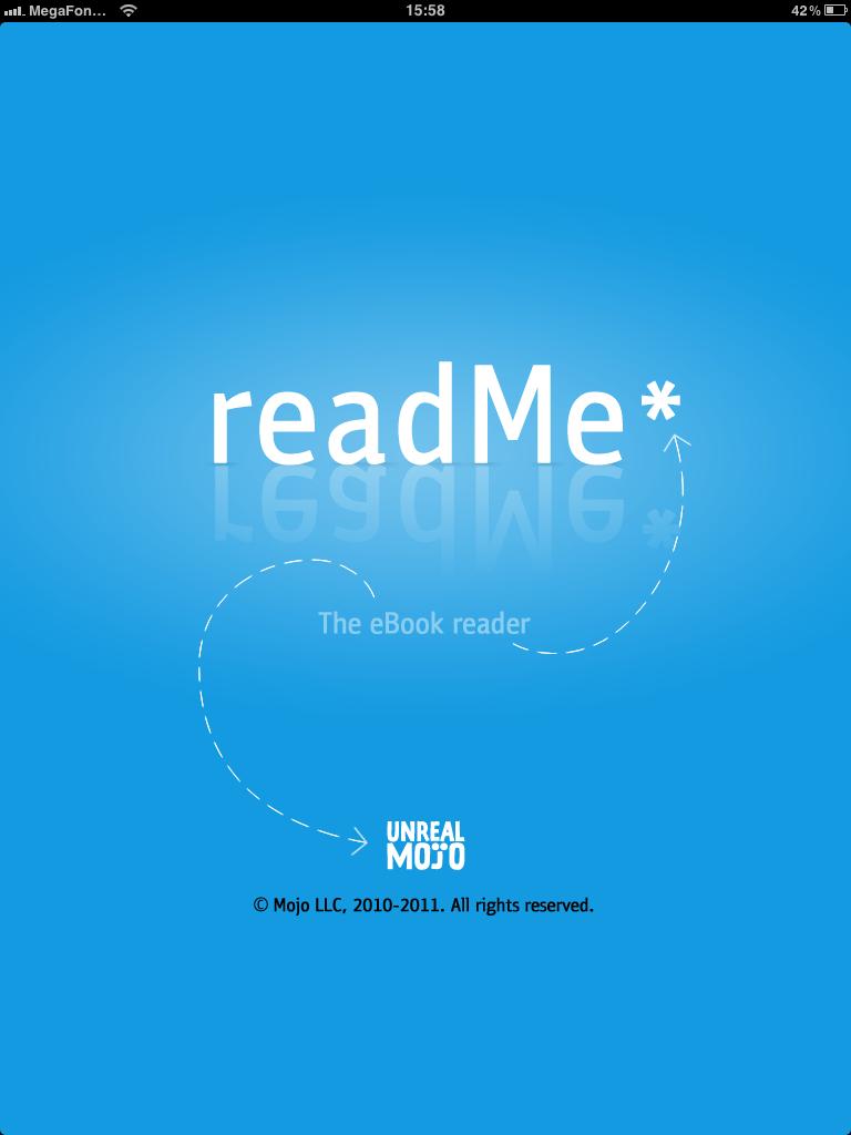 readMe - чтение книг на iPad