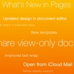 Apple обновила iWork для iOS, iCloud и Mac