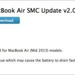 Обновление прошивки SMC увеличит время работы аккумулятора на MacBook Air 2013