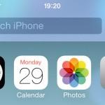 Что делать, если не работает поиск Spotlight на iOS 8