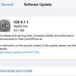 Apple выпустила iOS 8.1.1