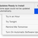 Обновления системы безопасности Apple