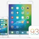 Apple выпустила iOS 9.3 для iPhone и iPad