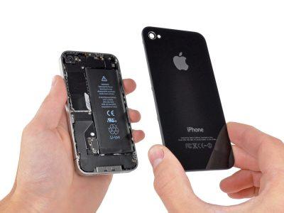 Восстановление корпуса (рихтовка) iPhone 4