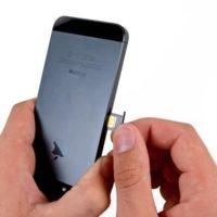 Замена лотка SIM-карты iPhone 6