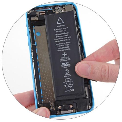 аккумулятор iphone 5c замена