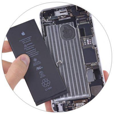 Замена аккумулятора iPhone 6 Plus