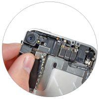 Замена камеры на iPhone 4