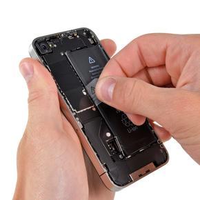 Чистка динамика/микрофона iPhone 4S от пыли (со вскрытием устройства)