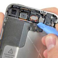 Чистка динамика/микрофона iPhone 6 от пыли (со вскрытием устройства)