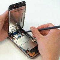 Чистка динамика/микрофона iPhone 6 Plus от пыли (со вскрытием устройства)