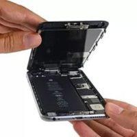 Чистка динамика/микрофона iPhone 7 Plus от пыли (со вскрытием устройства)