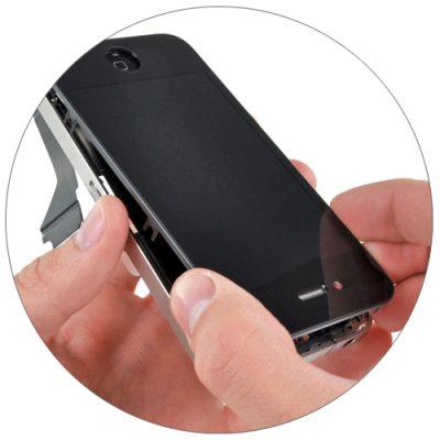Замена дисплейного модуля iPhone 4