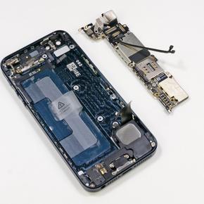 Восстановление внутренних элементов по цепи питания на материнской плате iPhone 5