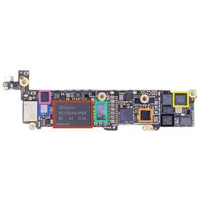 Восстановление внутренних элементов по цепи питания на материнской плате iPhone 5S