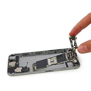 Восстановление внутренних элементов по цепи питания на материнской плате iPhone 6S Plus