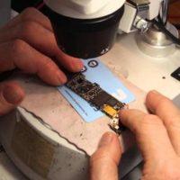 Восстановление внутренних элементов по цепи питания на материнской плате iPhone 6S