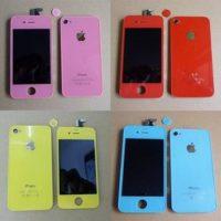 Поменять цвет iPhone 4
