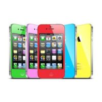 Поменять цвет iPhone 4S