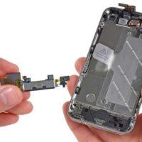 Попадание влаги iPhone 5S