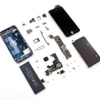 Восстановление или замена компонентов платы iPhone 5C