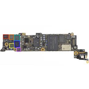 Восстановление или замена компонентов платы iPhone 5S