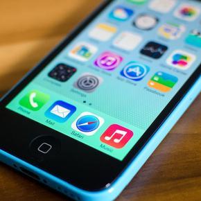 Сброс iPhone 5C
