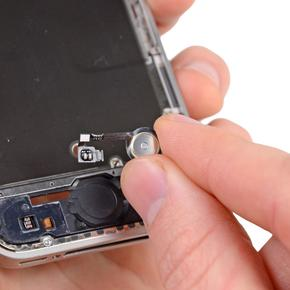 Замена/ремонт шлейфа кнопки «Домой» iPhone 4S