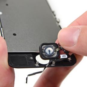Замена/ремонт шлейфа кнопки «Домой» iPhone 5C