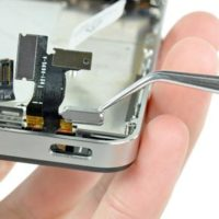 Замена кнопки включения iPhone 5C