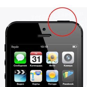 Ремонт кнопки включения iPhone 5S