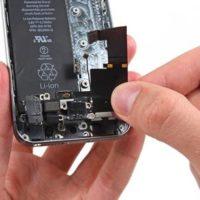 Замена микрофона iPhone SE
