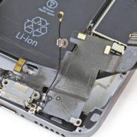 Замена нижнего шлейфа с разъемом зарядного устройства iPhone 6 Plus