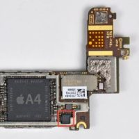 Замена звуковой микросхемы iPhone 6