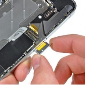 Извлечение застрявшей SIM-карты из лотка iPhone 4