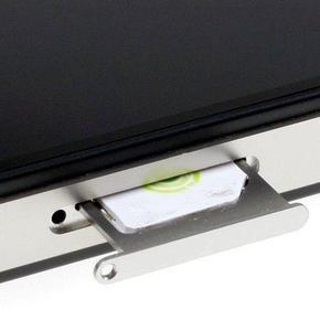 Извлечение застрявшей SIM-карты из лотка iPhone 4S