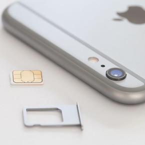 Извлечение застрявшей SIM-карты из лотка iPhone 6S