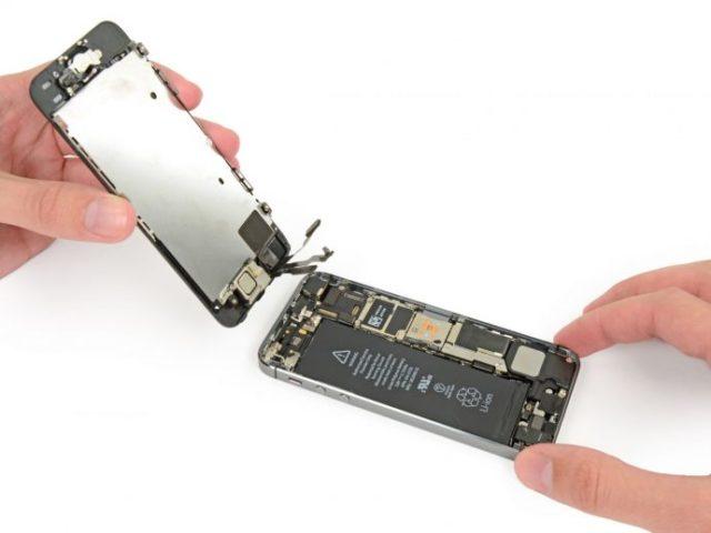 Замена экрана айфона